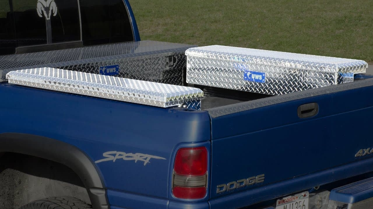 Side Mount Toolbox for Trucks