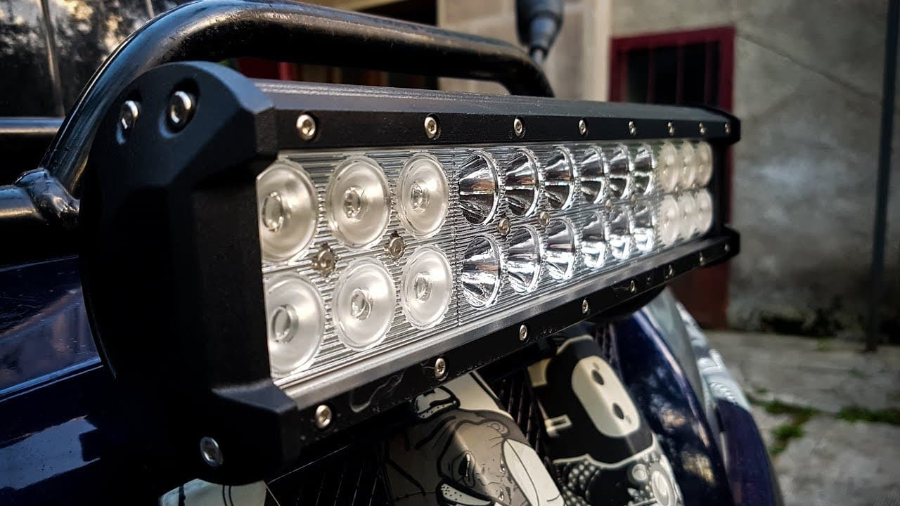 Owning the best light bar and not makes the difference in the dark