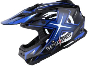 Blue 1Storm Adult Helmet for Offroad