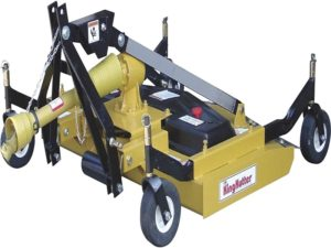 King Kutter Pull Behind Mower is our recommendation
