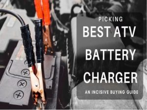 Testing different battery chargers to find the best atv battery maintainer