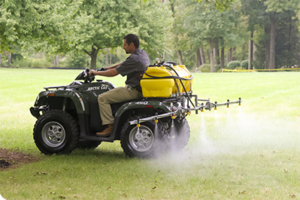 Testing different sprayers to find the best ATV sprayer tank