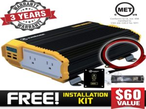 The Kriger model is the best auto power inverter.
