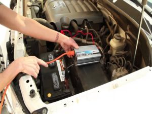 Installing a power inverter on a car